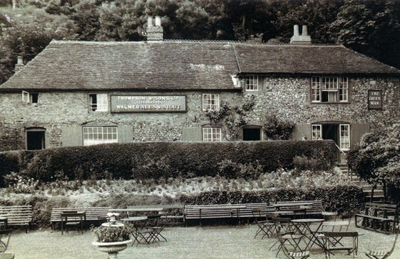 The Green Man from the garden. early 1920s