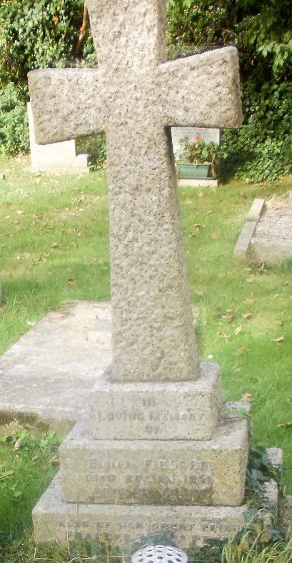 Gravestone of FIELDER Emma 1950; PETCH Frances Mary 1952 | Dawn Sedgwick