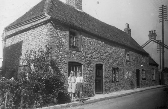 Sea Street: Curfew Cottages. 1920