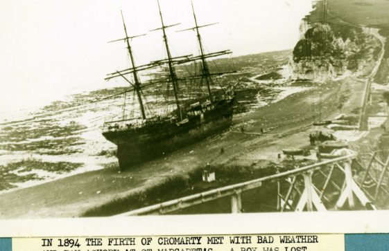 Firth of Cromarty, a series of photographs of the stranding in St Margaret's Bay. 1894