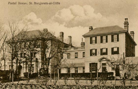 Portal House, St. Margaret's at Cliffe. postmark 1937