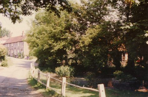 Chapel Lane in summertime. c1990