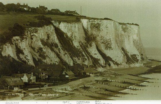 East Cliff, St Margaret's Bay. pre 1939