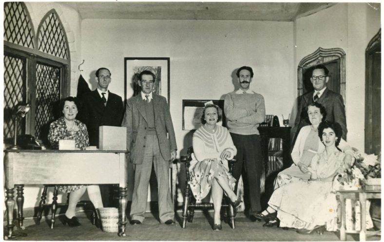 Cast of an unidentified production by St Margaret's Players