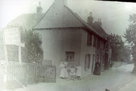 High Street Cottages c1900