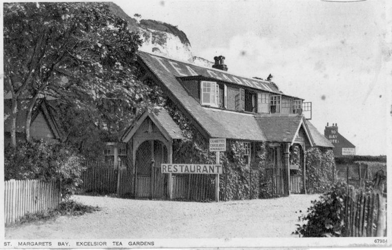 Excelsior Tea Rooms, pre and post WW2