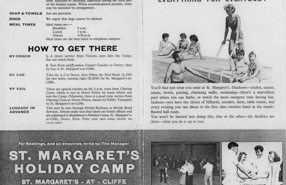 Brochure for Maddieson's Holiday Camp. 1968