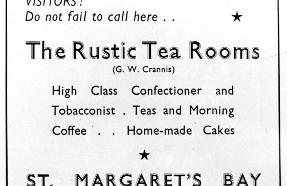 Sea Street: Rustic Tea Rooms, later The Quality Bar Cafe, and demolition