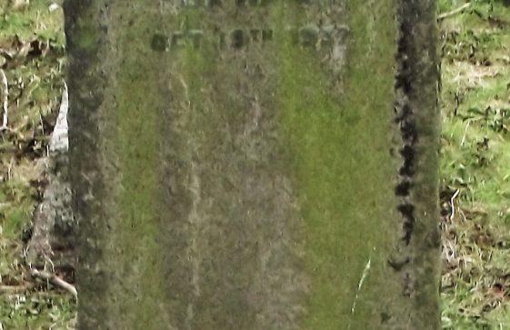 Gravestone of  HARDY Ada 1937