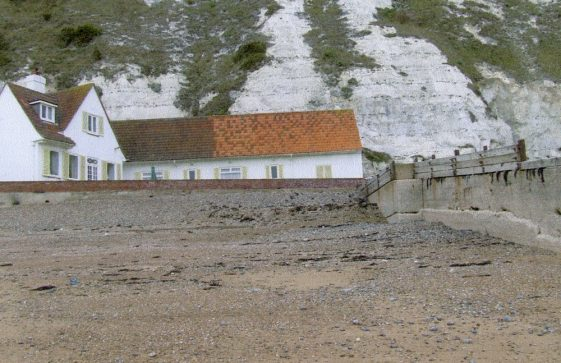 White Cliffs, the house at The Leas end of St Margaret's Bay lived in by Noel Coward.
