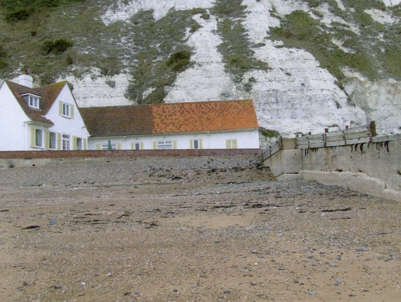 White Cliffs, the house at East Cliff end of St Margaret's Bay lived in by Noel Coward.
