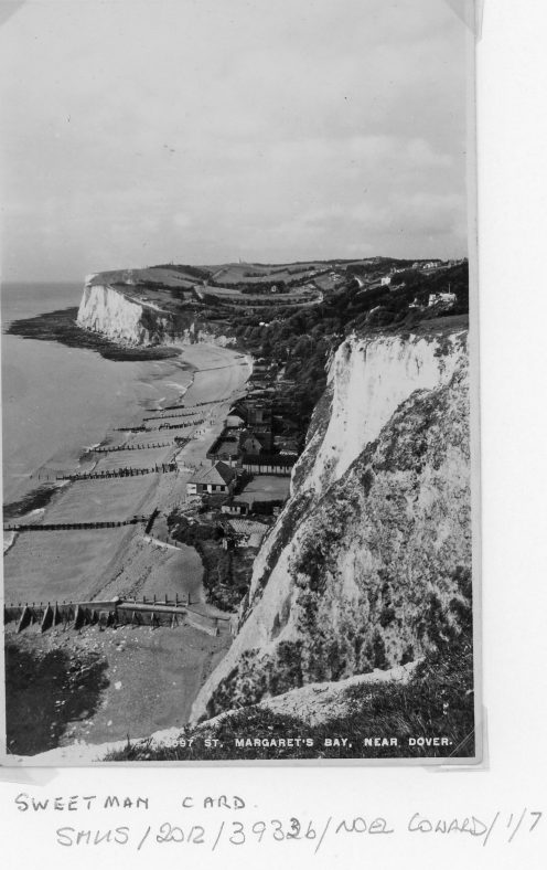 St Margaret's Bay from The Leas. pre war 1939