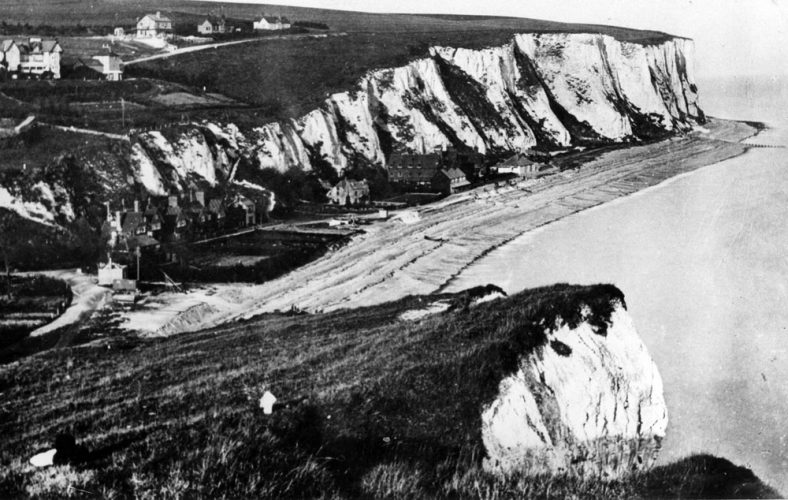 St Margaret's Bay from Ness Point. 1890s