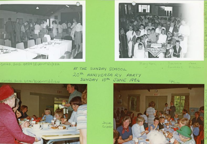20th Anniversary of the Sunday School 10th June 1984
