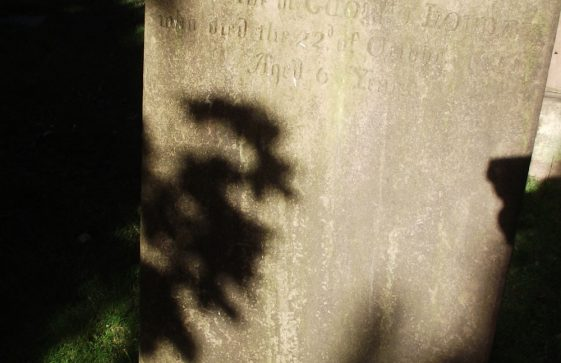 Gravestone of HOBDAY Ann 1855