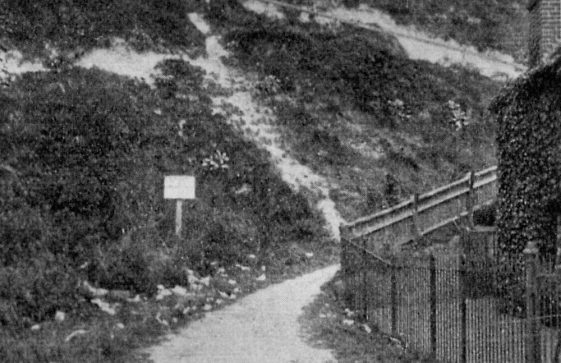 Base of the Zigzag path, St Margaret's Bay. 20th century