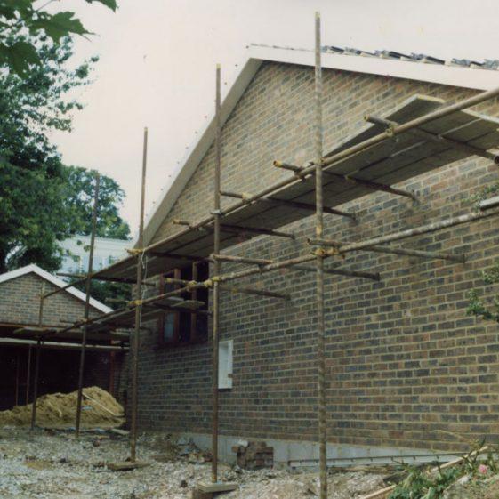Building 'Hesperides', Granville Road, 1986