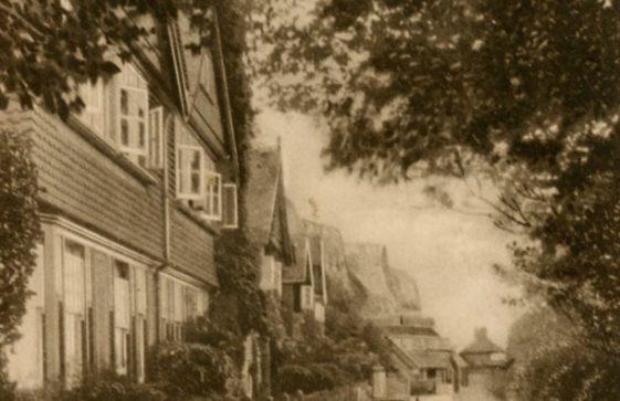 Adcock's Villas, St Margaret's Bay. postmark 1926
