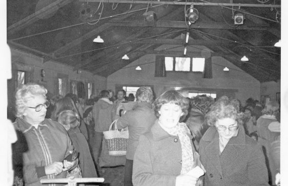 Red Cross Jumble Sale in the Village Hall 1983
