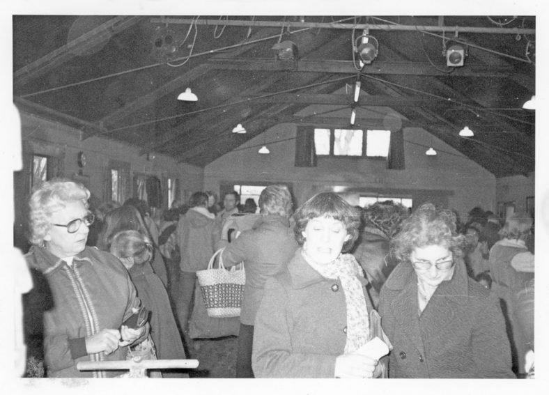 Red Cross Sale in the Village Hall 1983