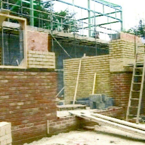 Photographic record of the building of St. Margaret's Hall  2001