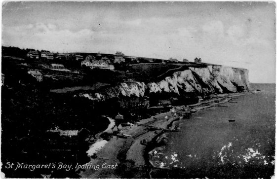 St Margaret's Bay from Ness Point. 1908.