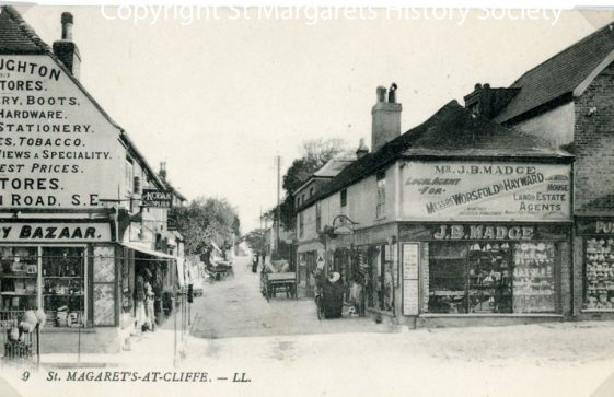 High Street and Madge's Stores. early 20th century