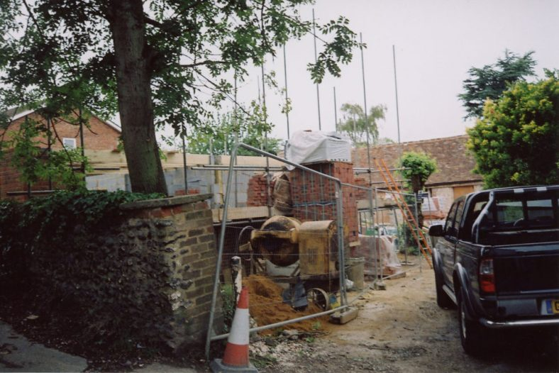 Building 'Dudritch Cottages' Well Lane. 2011