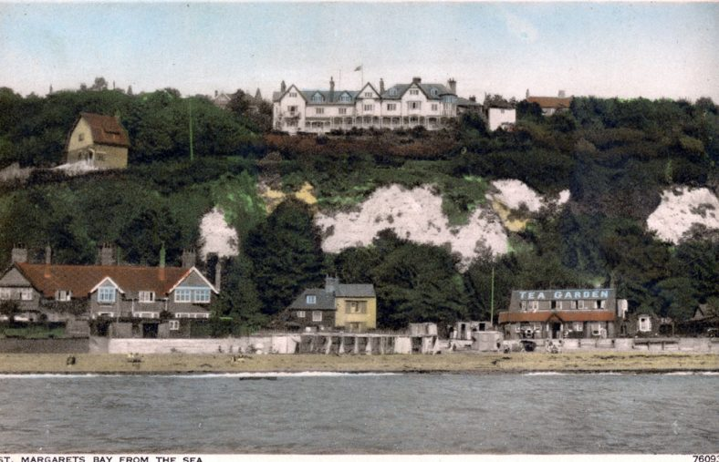 St Margaret's Bay from the Sea. c1924/5