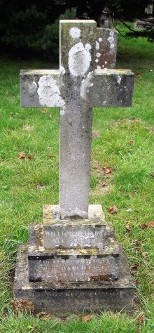 Gravestone of ALEXANDER William Stuart 1967; ALEXANDER Marjorie Janet 1970