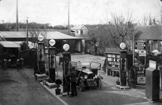 Madge's Filling Station and Garage, Well Lane