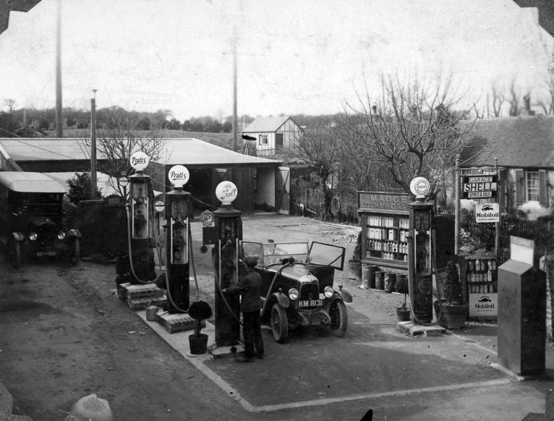 Madge's Petrol Station and Garage, Well Lane