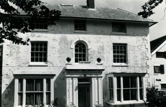 Cliffe House, High Street. in the early 1970s