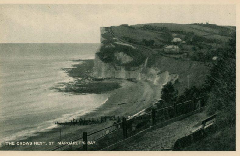 Crow's Nest, view of St Margaret's Bay. c1930