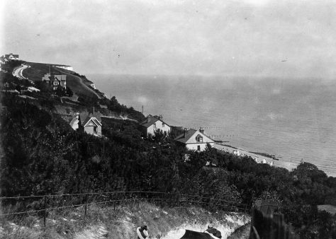 View from The Ness looking NE.  1901