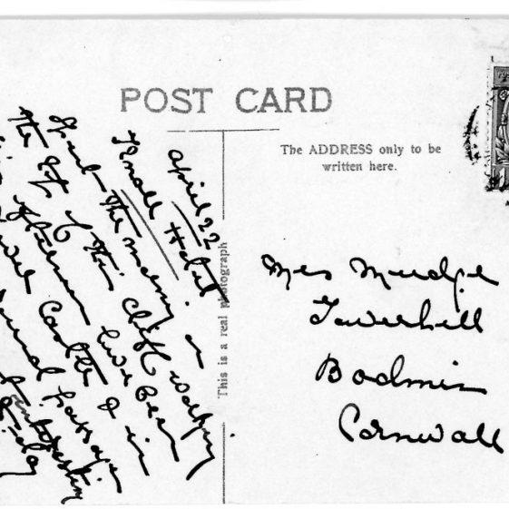 St Margaret's Bay from Ness Point. postmark 1929