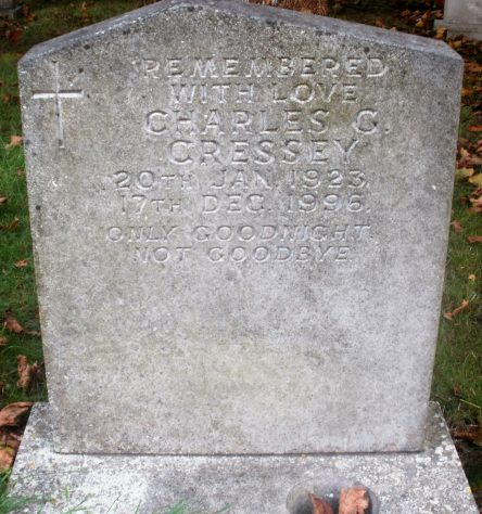 Gravestone of CRESSEY Charles George 1996