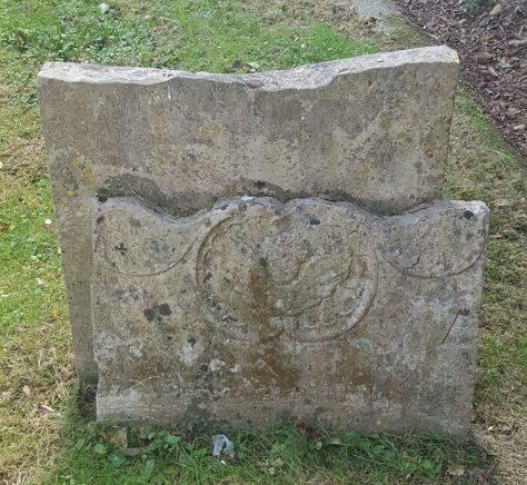 Gravestone of ELEANOR Thomas 1781; ELEANOR Elizabeth 1761; ELEANOR John 1767