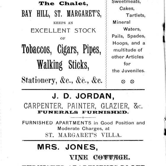 'St Margaret's Visitors Guide' by John Bavington Jones. nd, pages 32 - 38 and Back Cover | John Bavington Jones