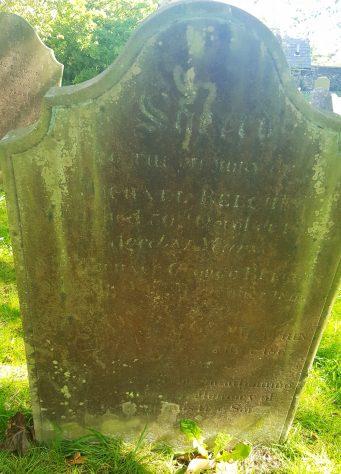 Gravestone of BEECHIN Michael 1867; BEECHIN Michael George 1866; BEECHIN Charles Richard 1867