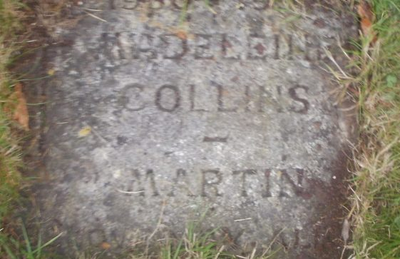 Gravestone of COLLINS-MARTIN Madeleine 1997