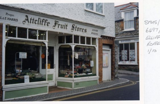 Attcliffe Fruit Stores, High Street