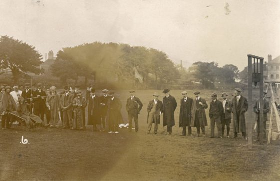 Spectators at St Margaret's Sports Day. 1909