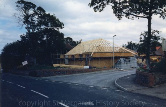 """Millfield"" site, Station Road.  August 1986"