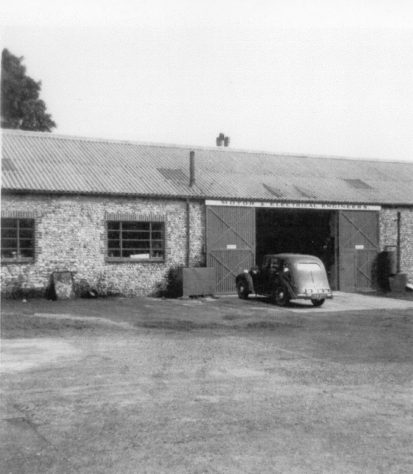Street Farm Garage, High Street. c1950