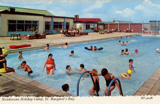 Maddieson's Holiday Camp, swimming pool. c1960