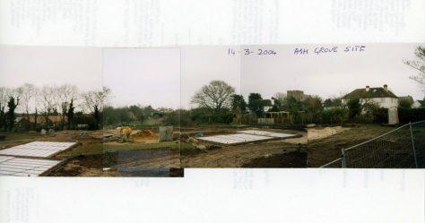 Ash Grove development site.  2004