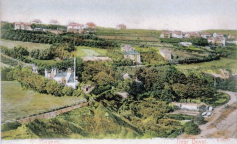Bay Hill and St Margaret's Bay.  early 1900's.