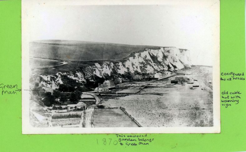 St Margaret's Bay from Ness Point. 1870