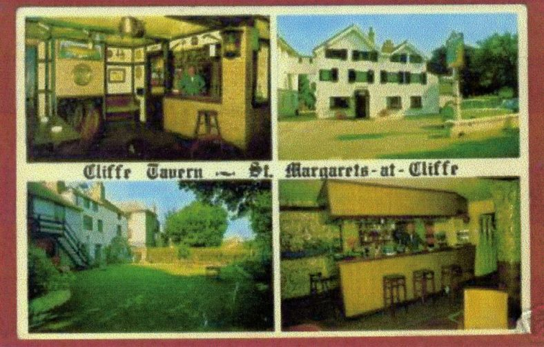 Cliffe Tavern, High Street trading postcard. c1960